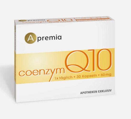 Verpackung Apremia Coenzym Q10 Kapseln